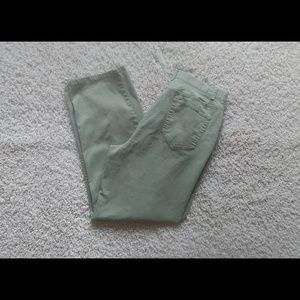 3/$20 Charter Club Laura Green Cotton Pant 12R